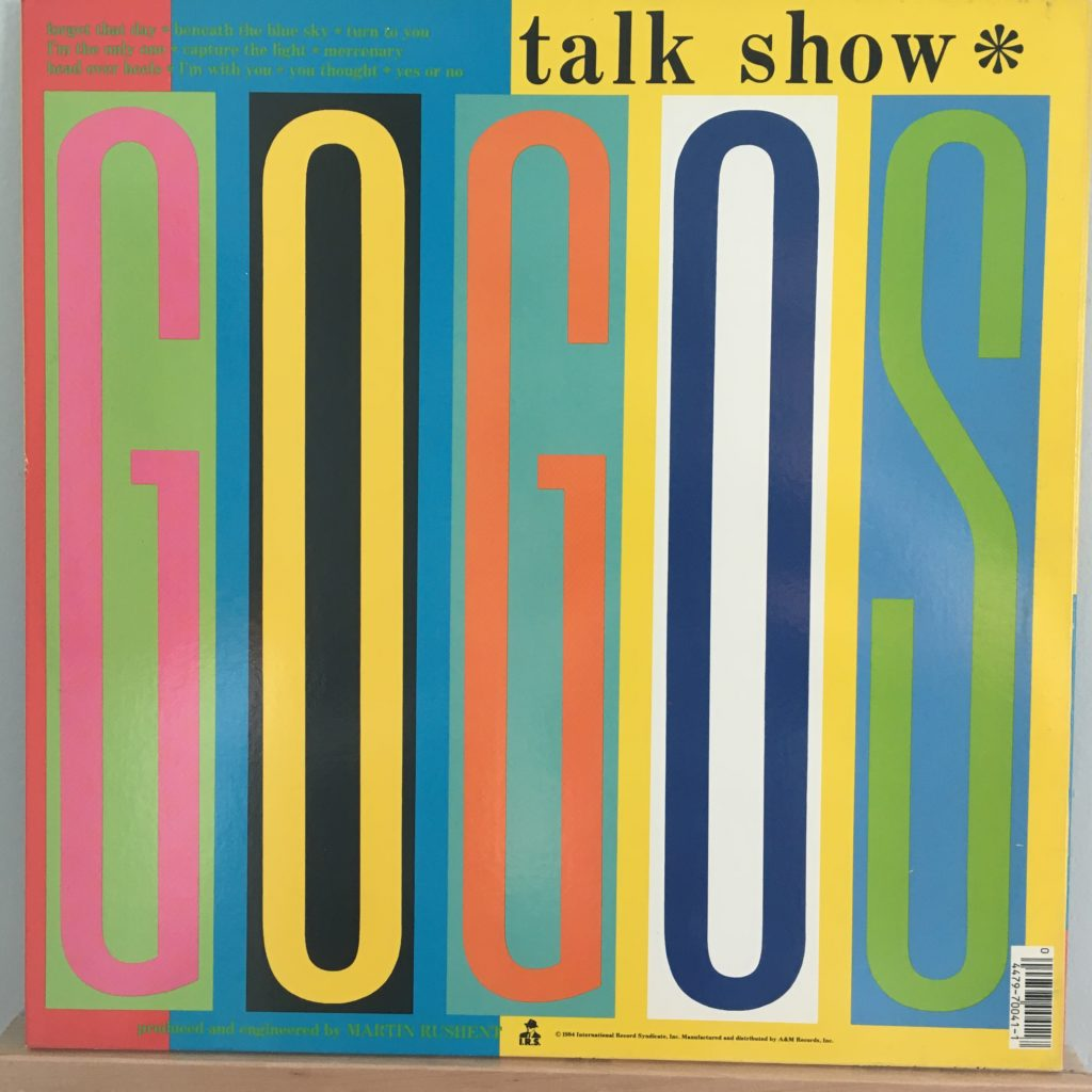 Talk Show back cover