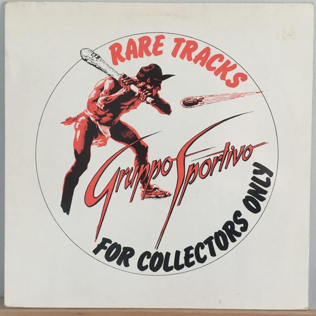 Gruppo Sportivo Rare Tracks front cover
