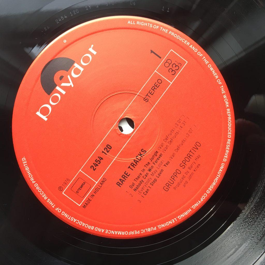 Rare Tracks label