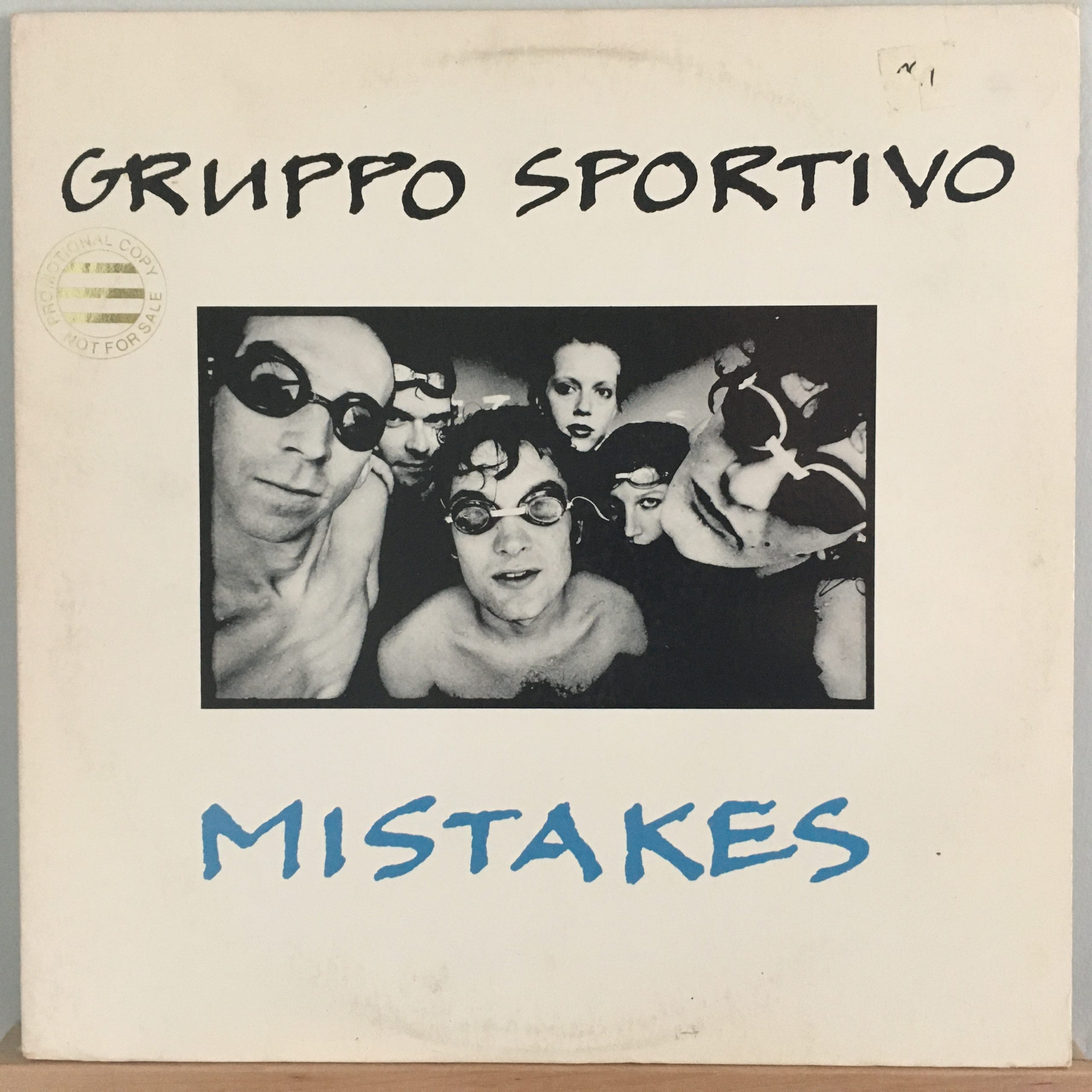 Mistakes front cover
