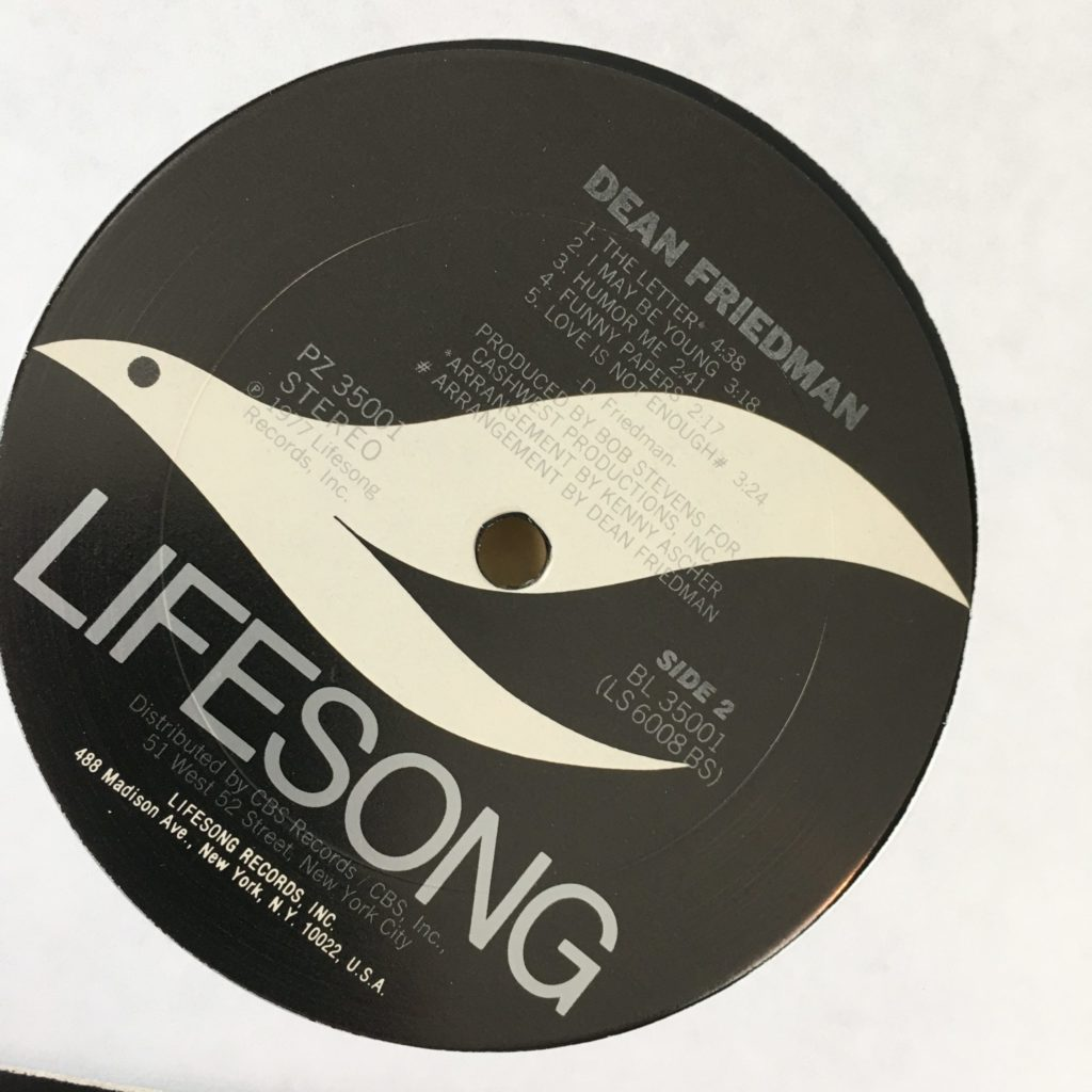Lifesong label