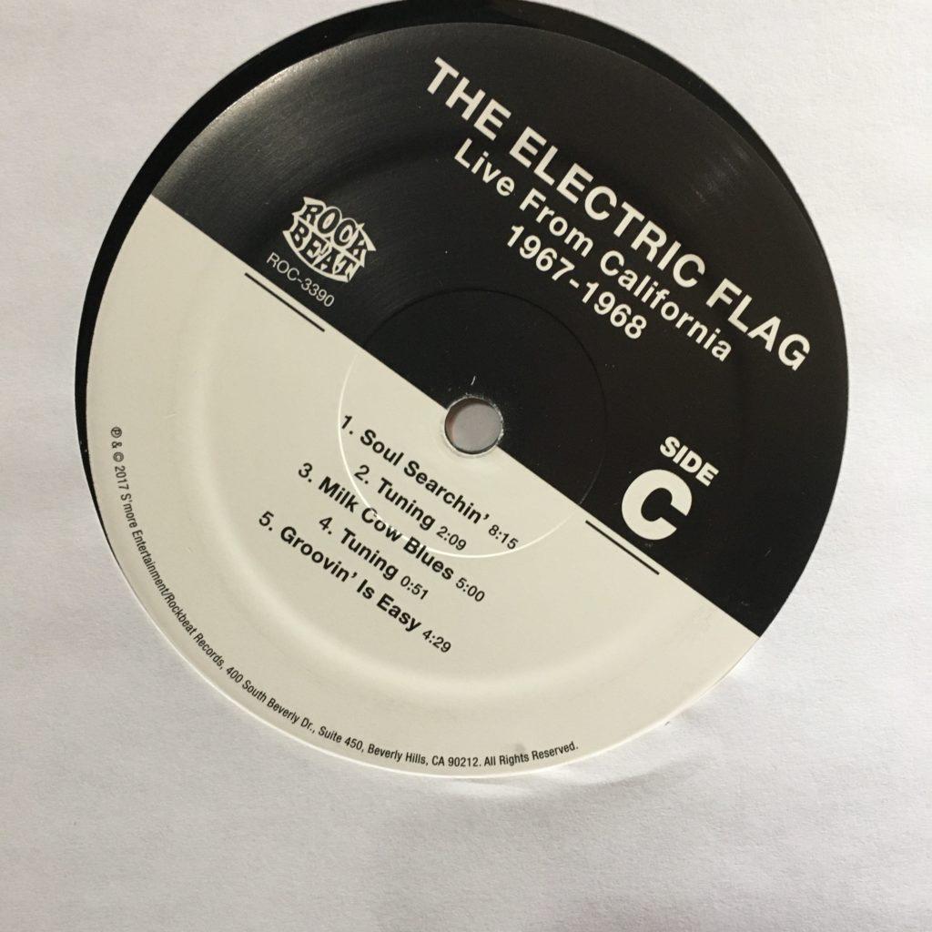 Electric Flag custom label