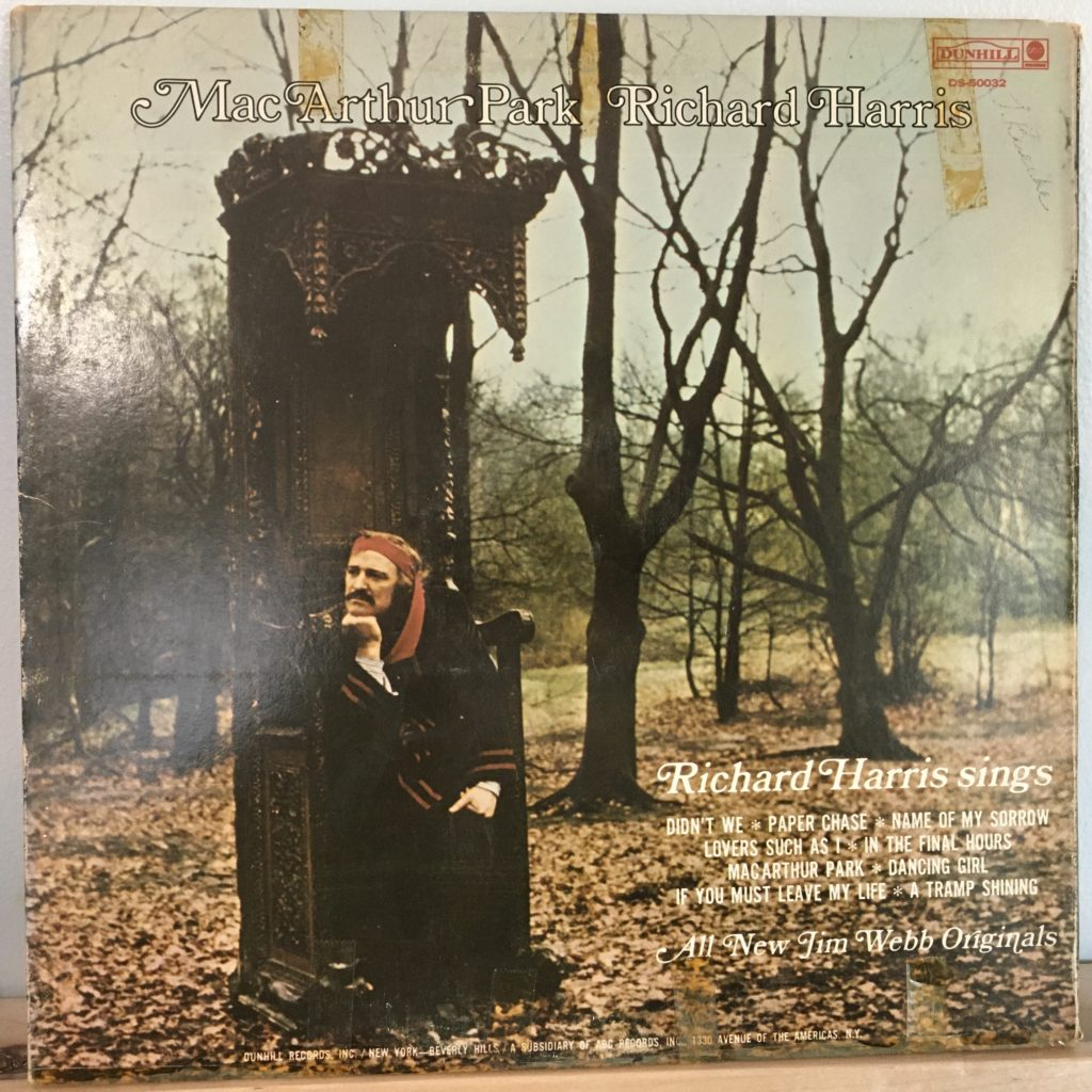 A Tramp Shining back cover