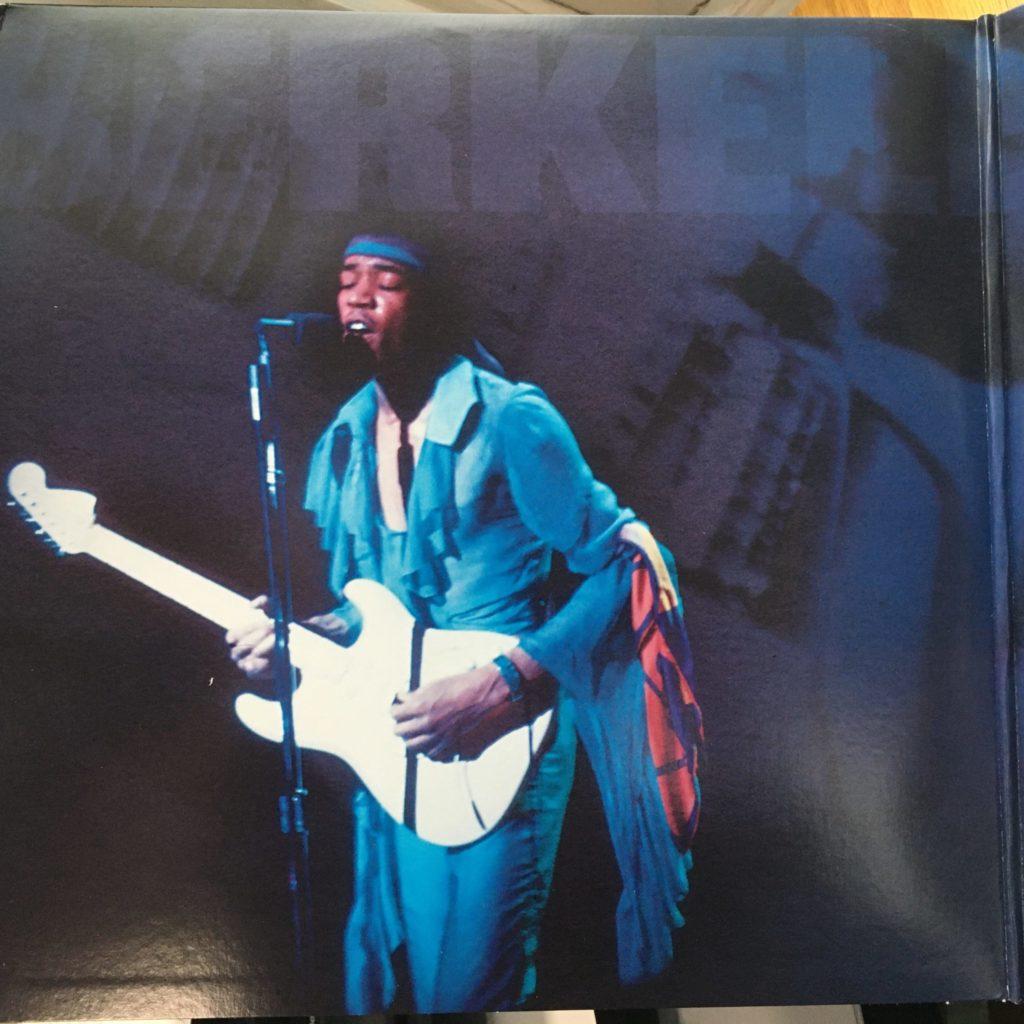 Left gatefold shot of Jimi