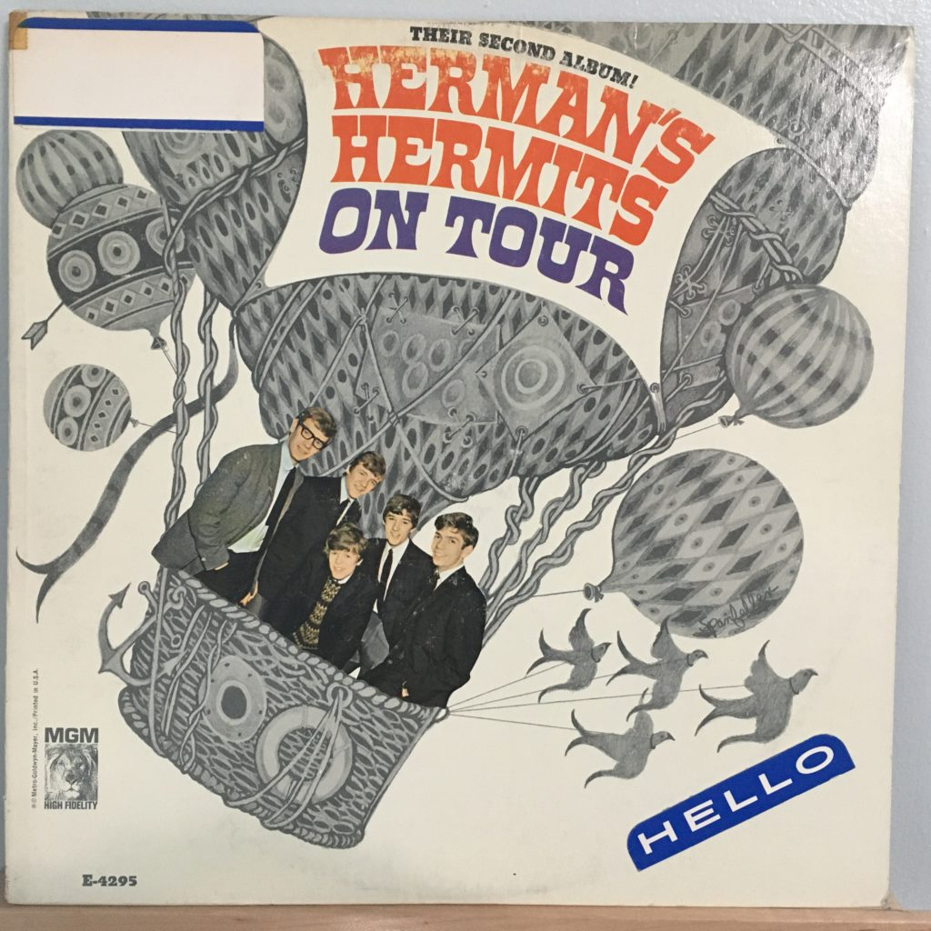 Herman's Hermits On Tour front cover