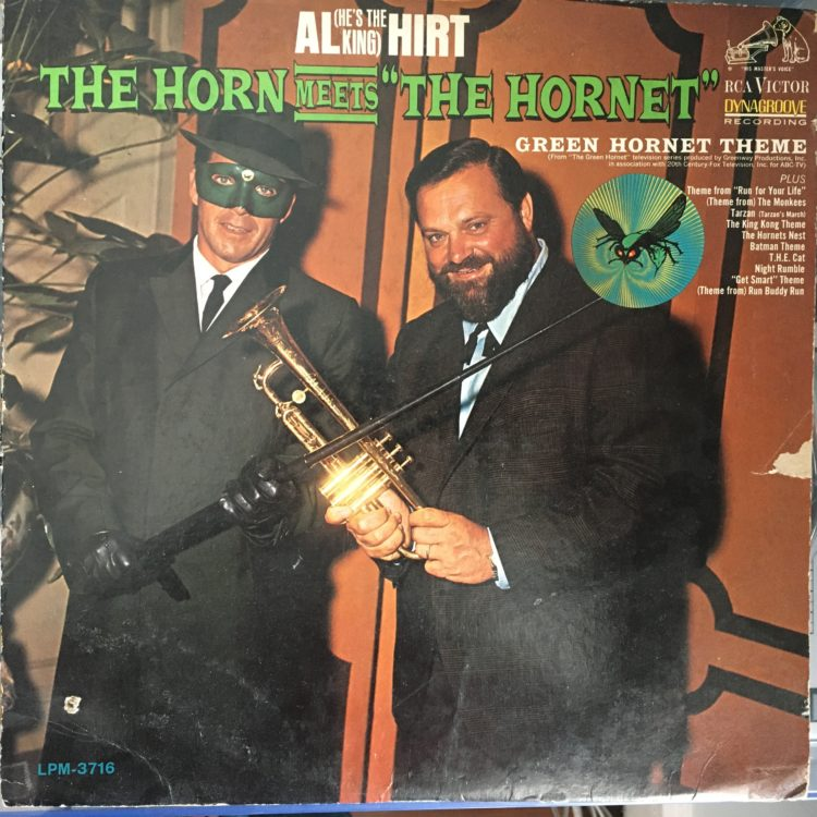 The Horn Meets The Hornet front cover
