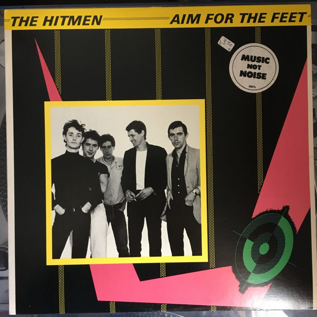 Aim For The Feet front cover