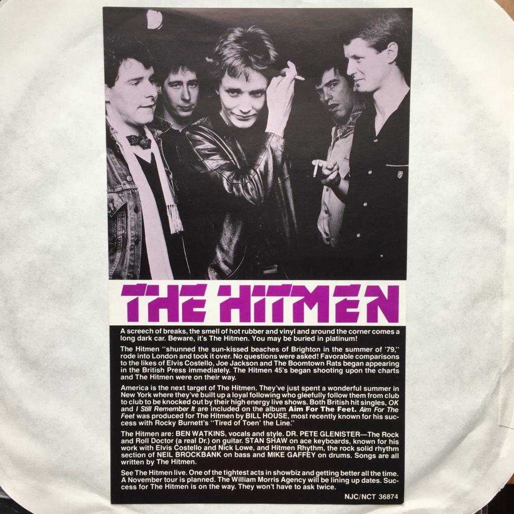 Hitmen promotional insert