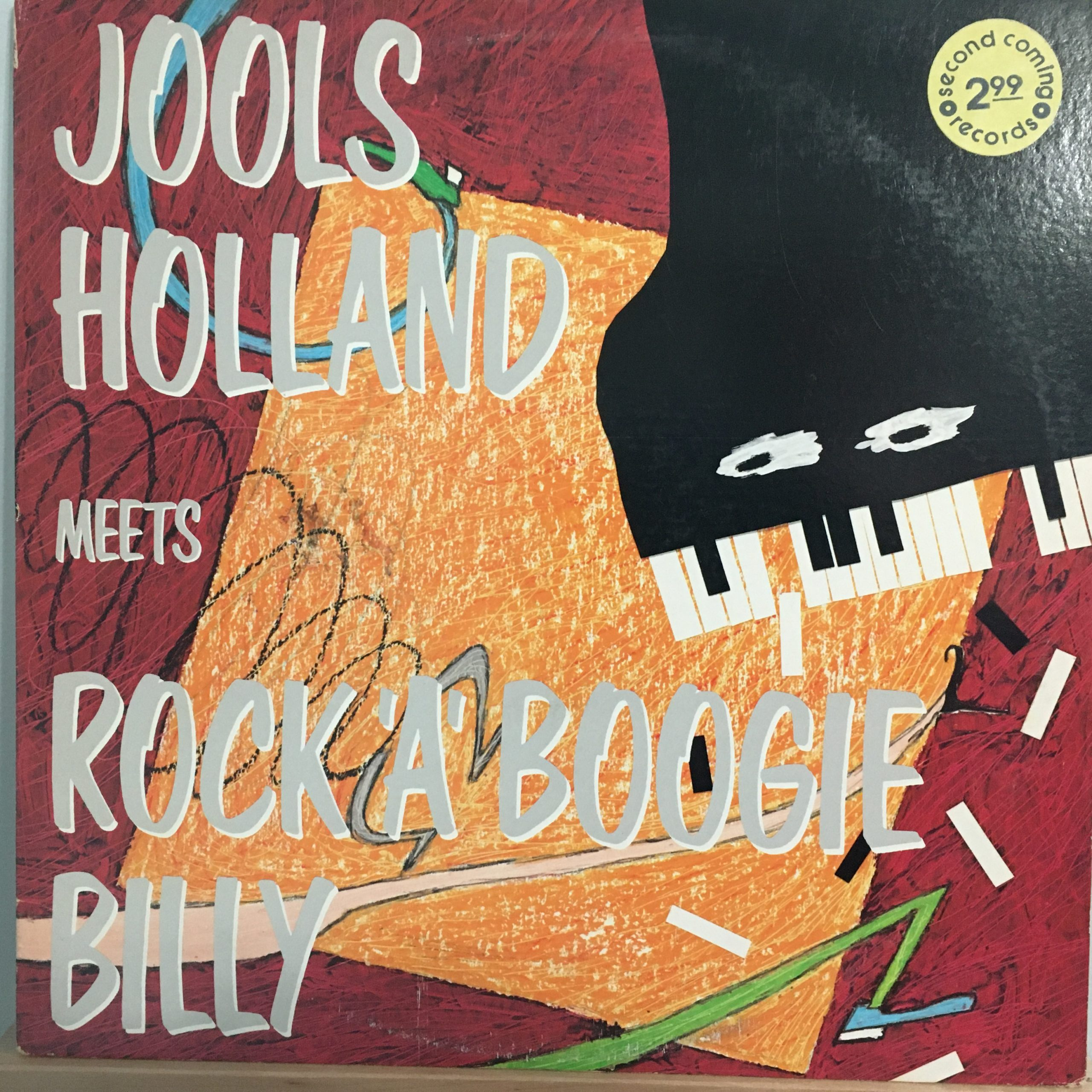 Rock 'a' Boogie Billy front cover