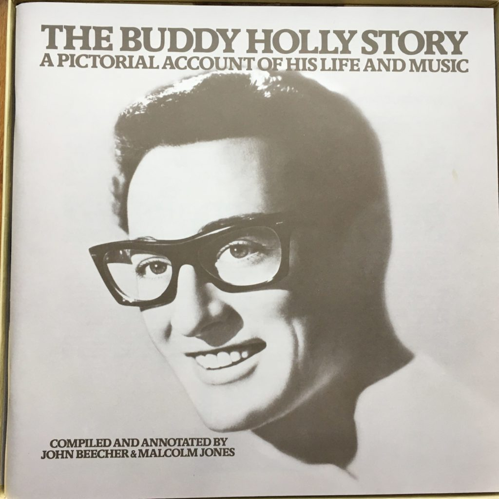Buddy Holly box set booklet cover