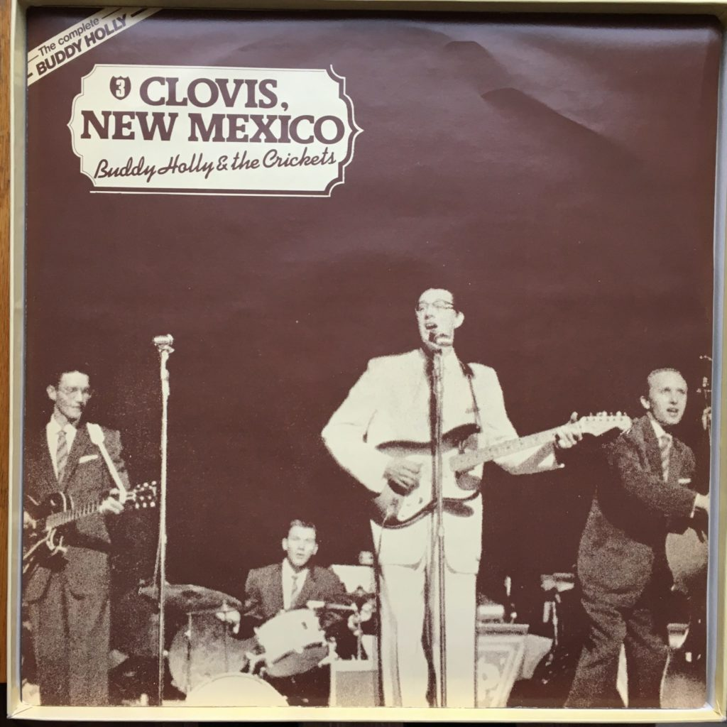 Buddy Holly sleeve 3: Clovis, NM