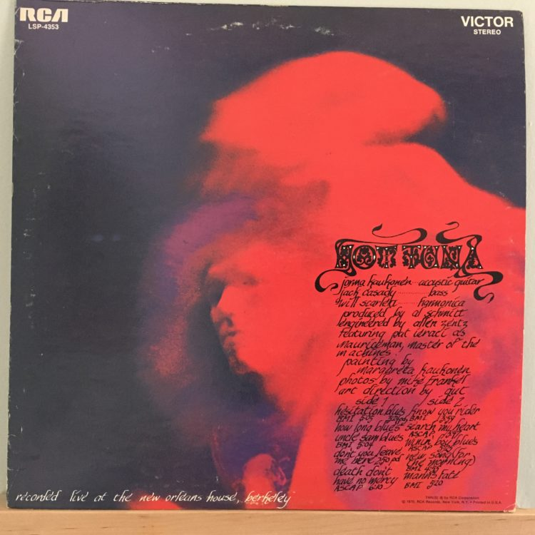 Hot Tuna front cover