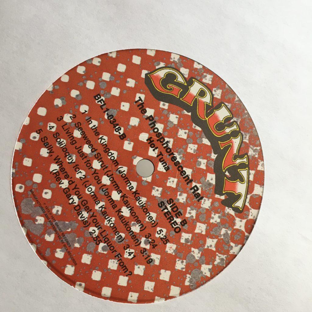Phosphorescent Rat Grunt label