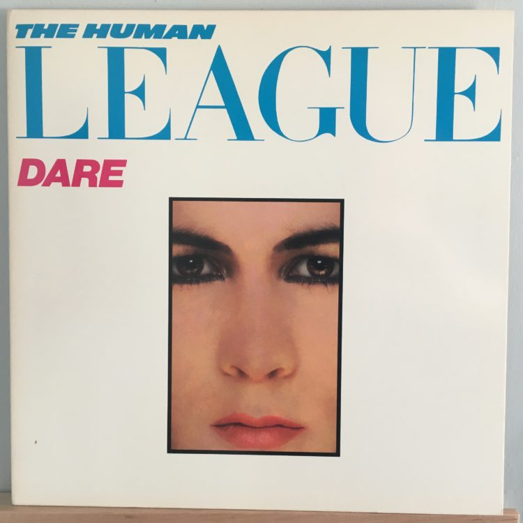 Human League Dare front cover
