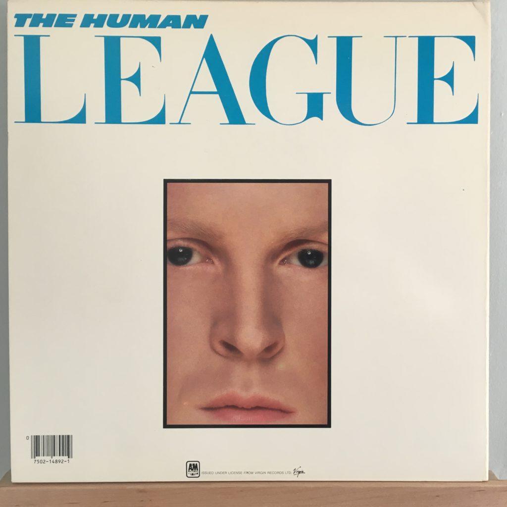 Human League Dare back cover