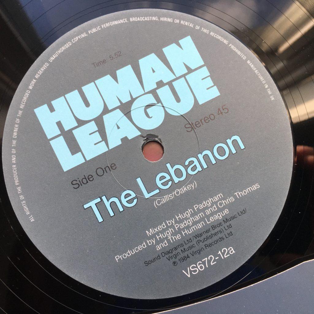 The Lebanon label