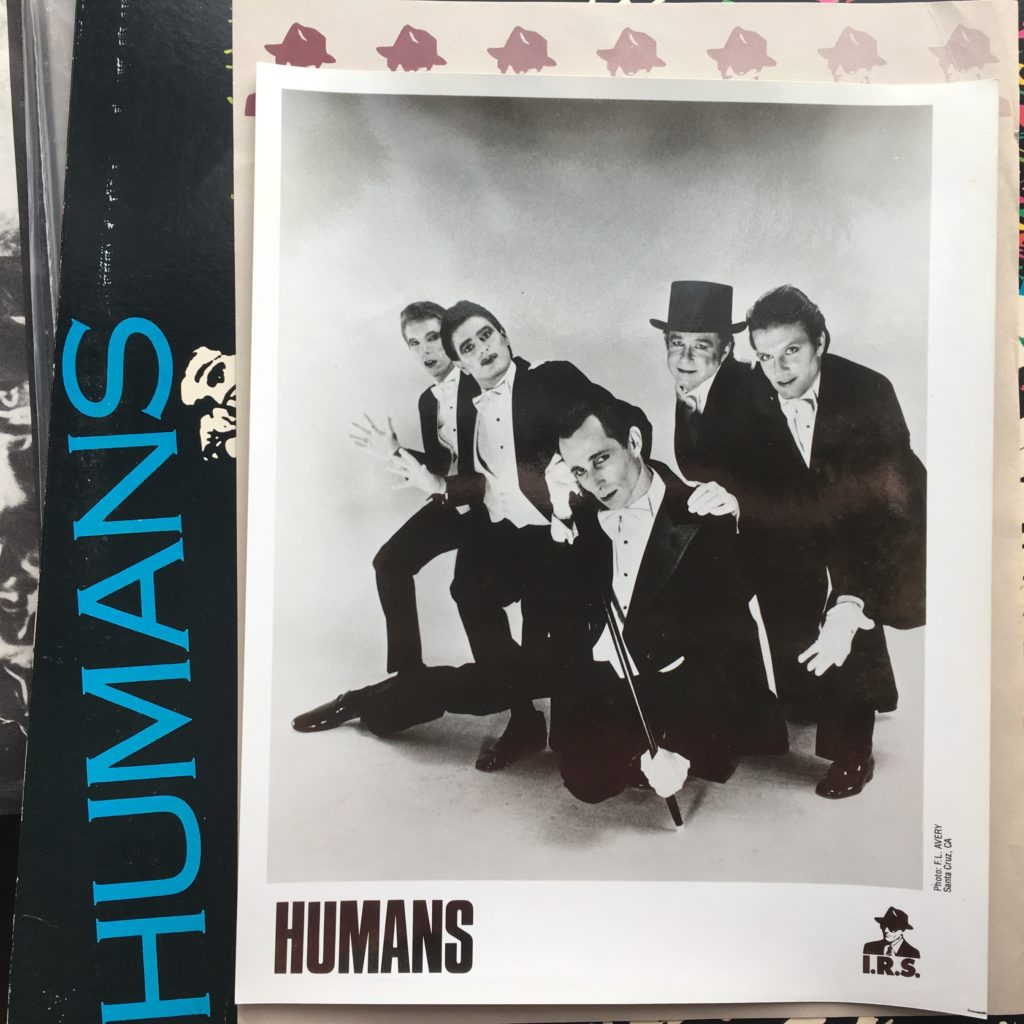 Humans official promo photo – years before Falco