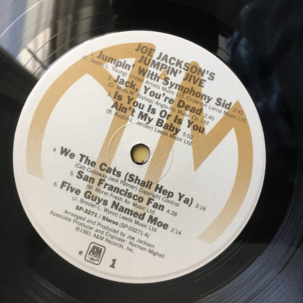 Joe Jackson's Jumpin' Jive label