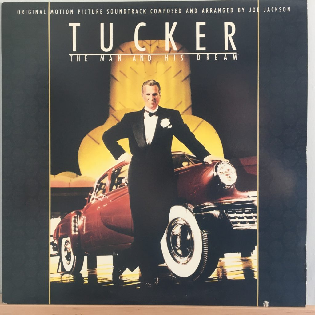 Tucker soundtrack front cover