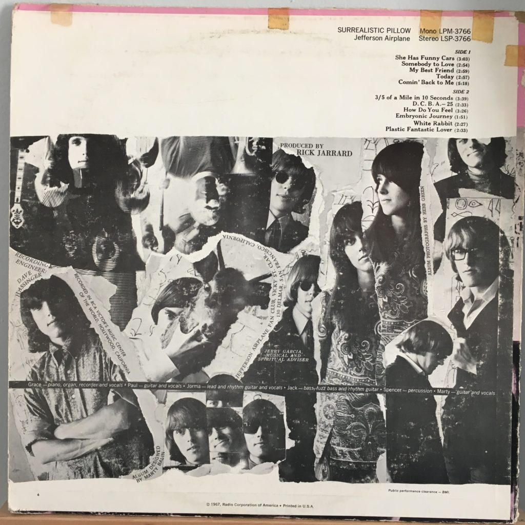 Surrealistic Pillow back cover