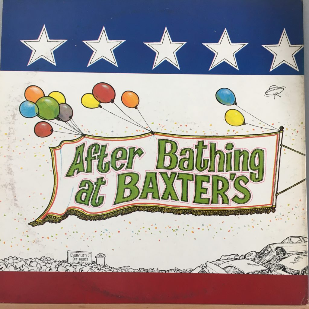 After Bathing at Baxter's back cover