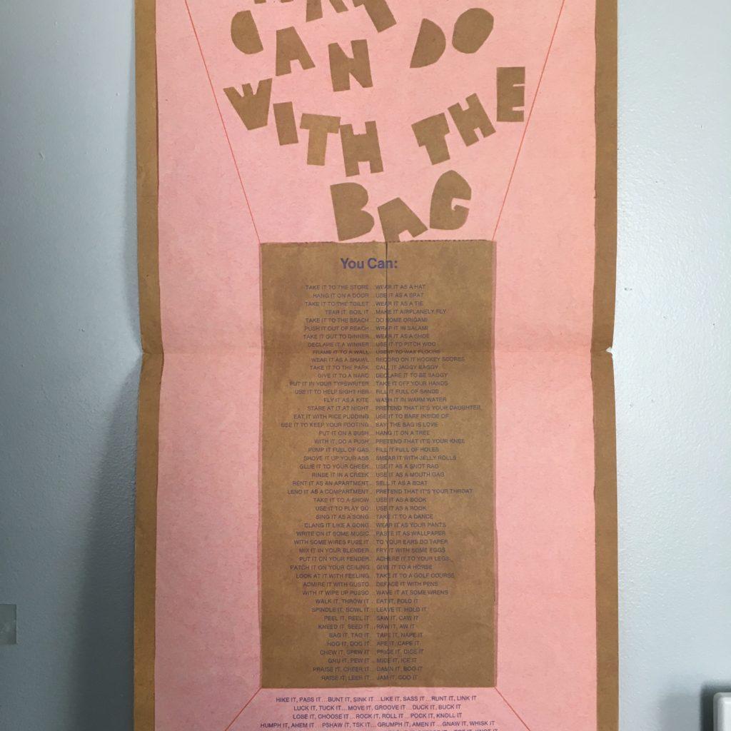 The bag poem