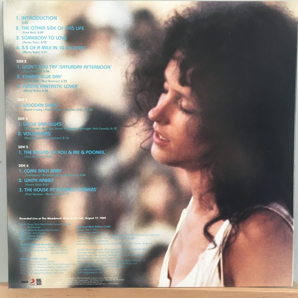 Woodstock back cover