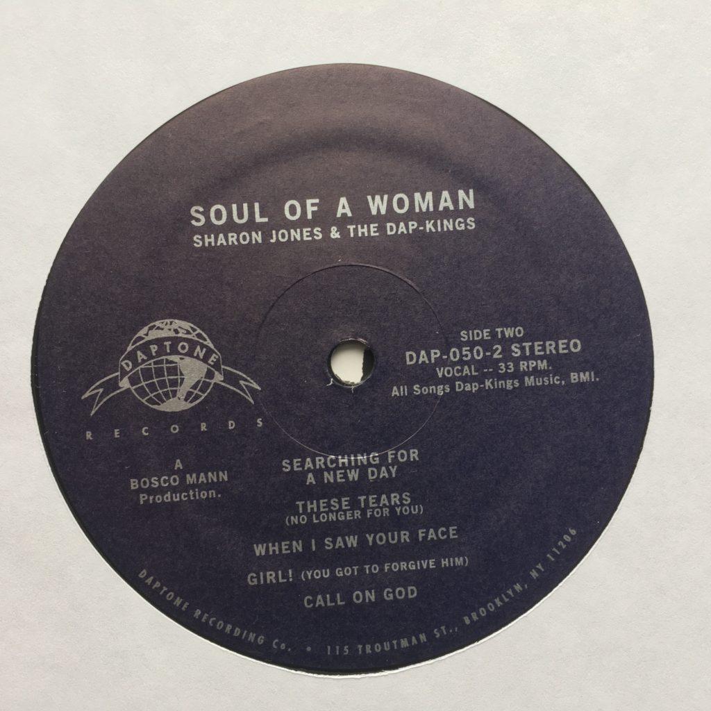 Soul of a Woman label