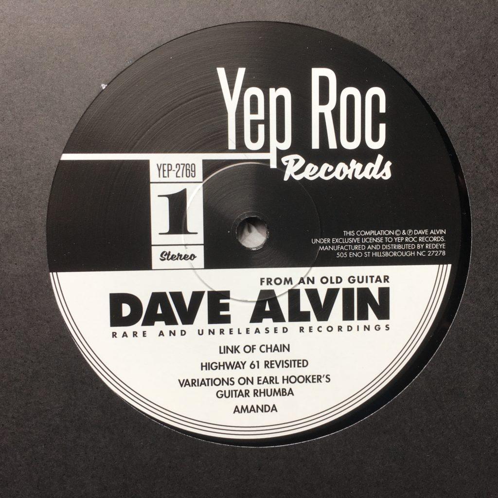 Yep Rock Dave Alvin label