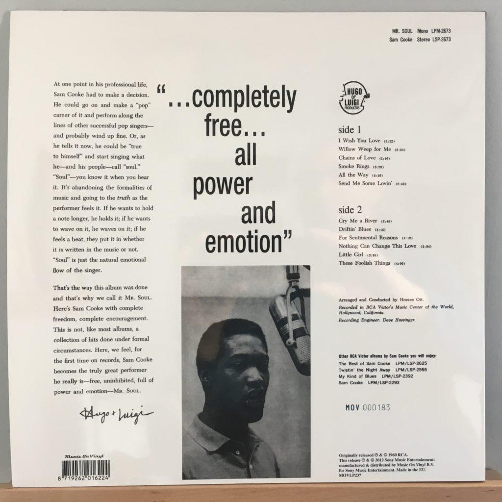 Mr. Soul back cover