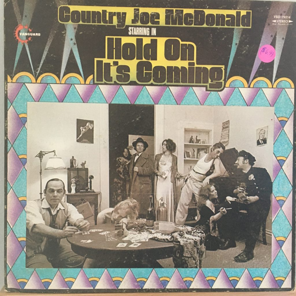 Country Joe McDonald solo front cover