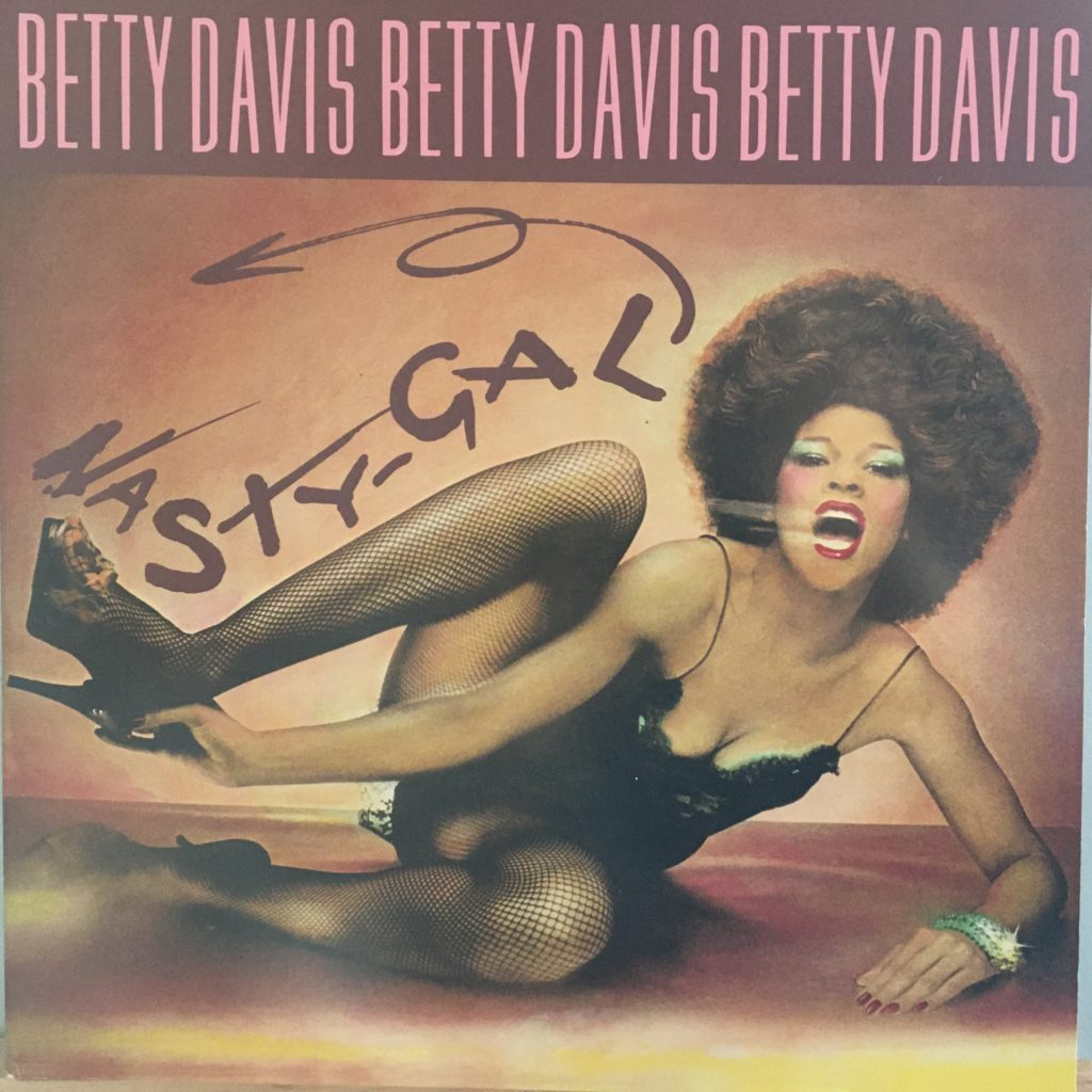 Betty Davis Nasty Gal front cover