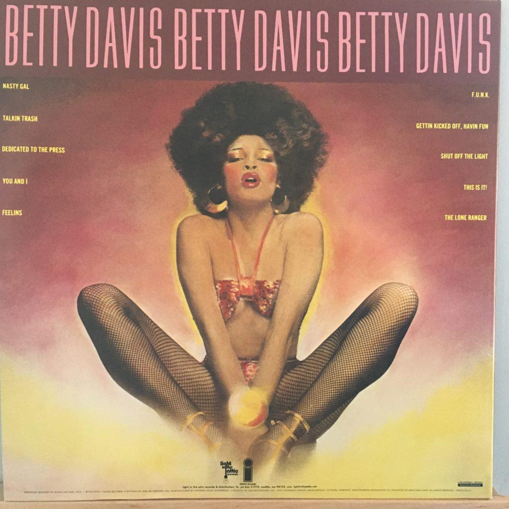 Betty Davis Nasty Gal back cover