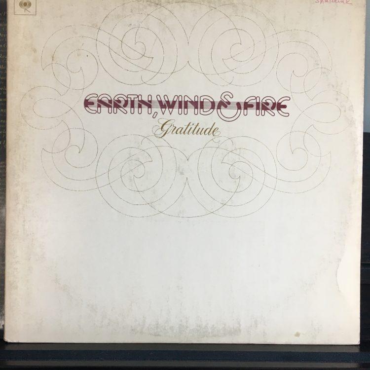Earth Wind & Fire Gratitude album cover
