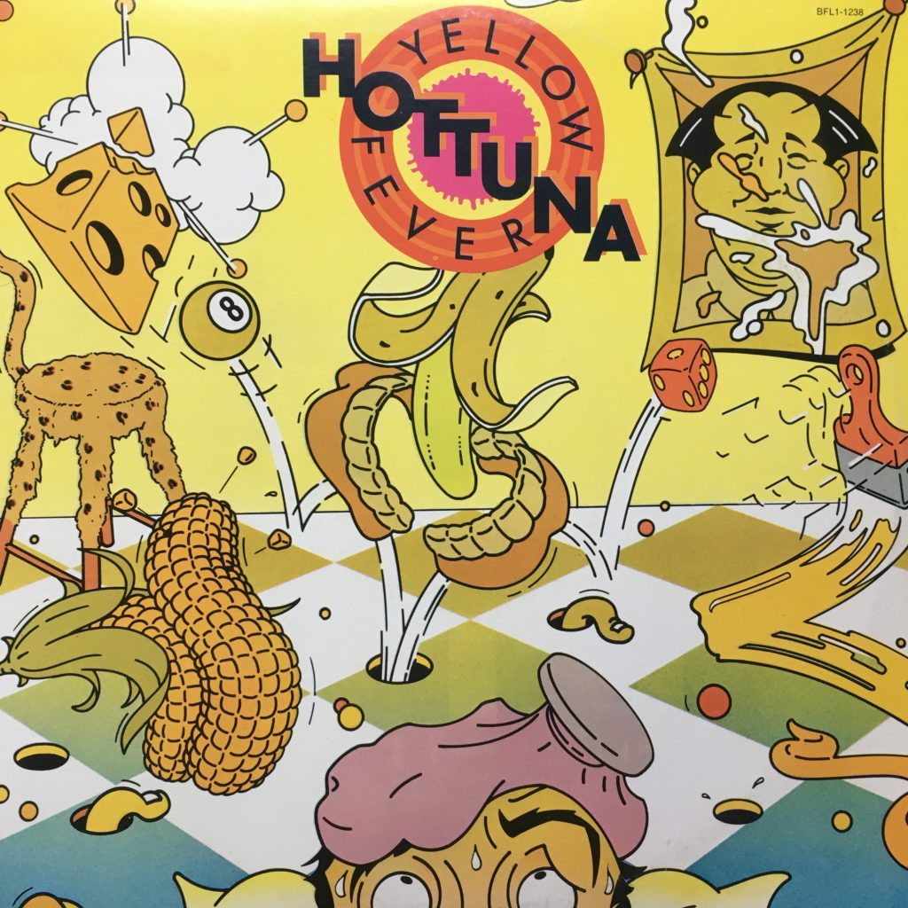 Hot Tuna Yellow Fever front cover