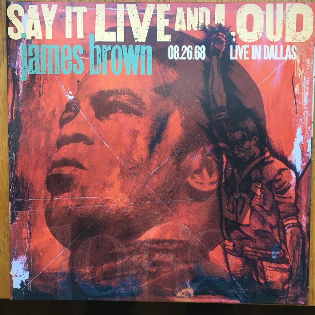Say it Live and Loud front cover