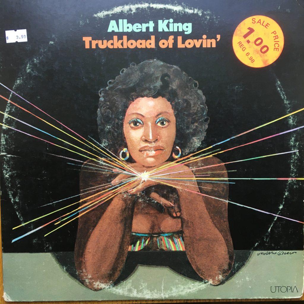 "Albert King's ""Truckload of Lovin'"" front cover"