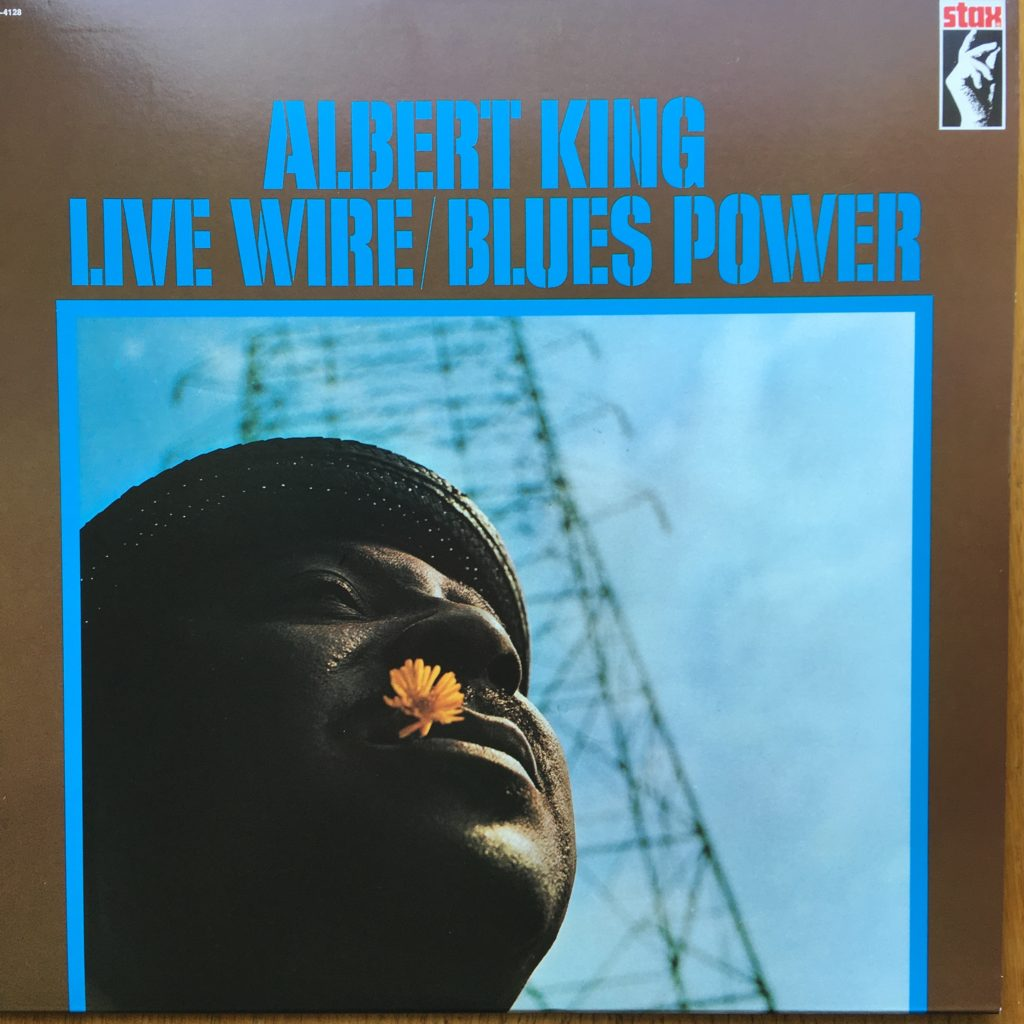 Live Wire / Blues Power front cover