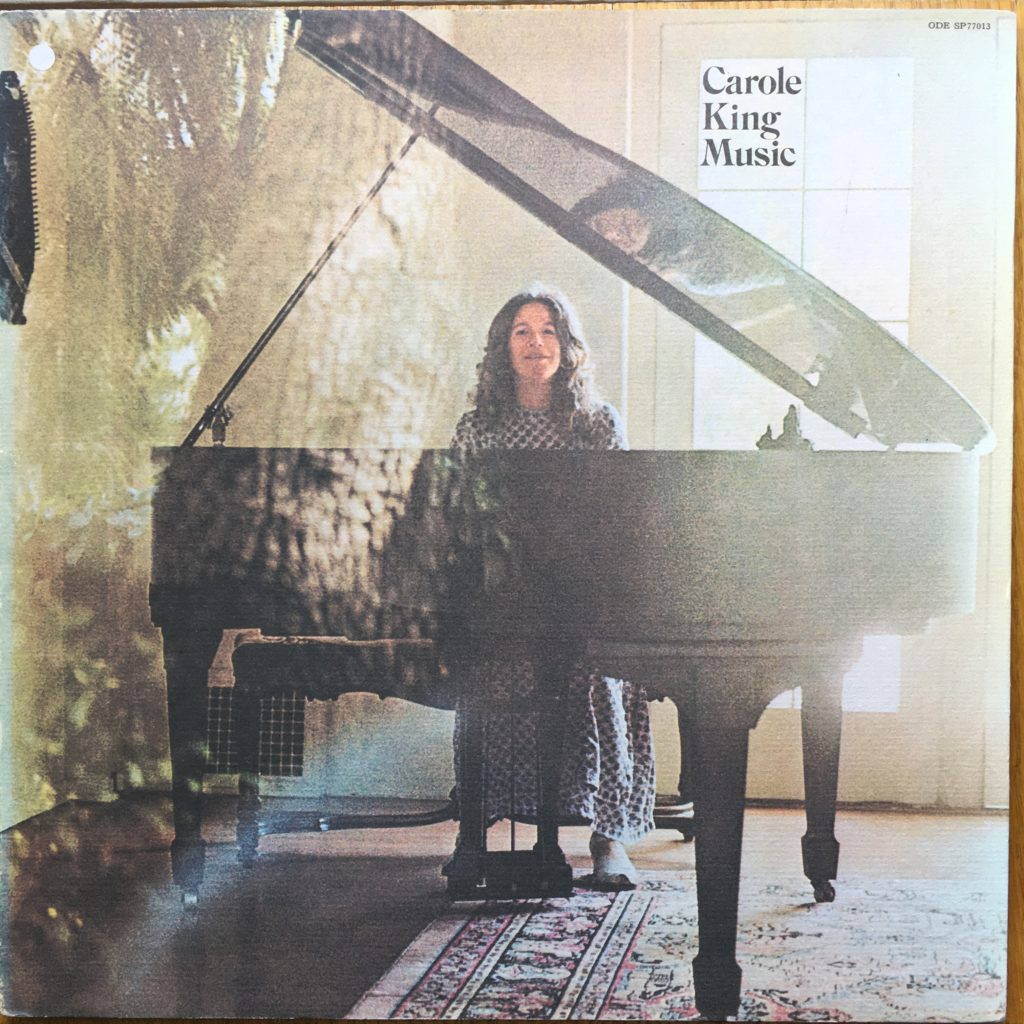 Carole King Music front cover