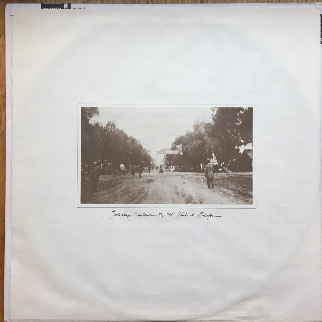 Warner/Reprise sleeve, indicating a likely '70s reissue