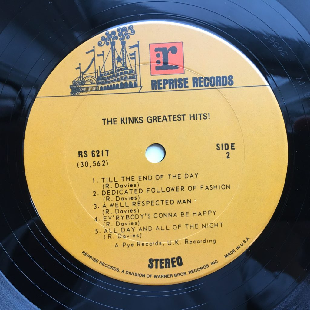 Greatest Hits label
