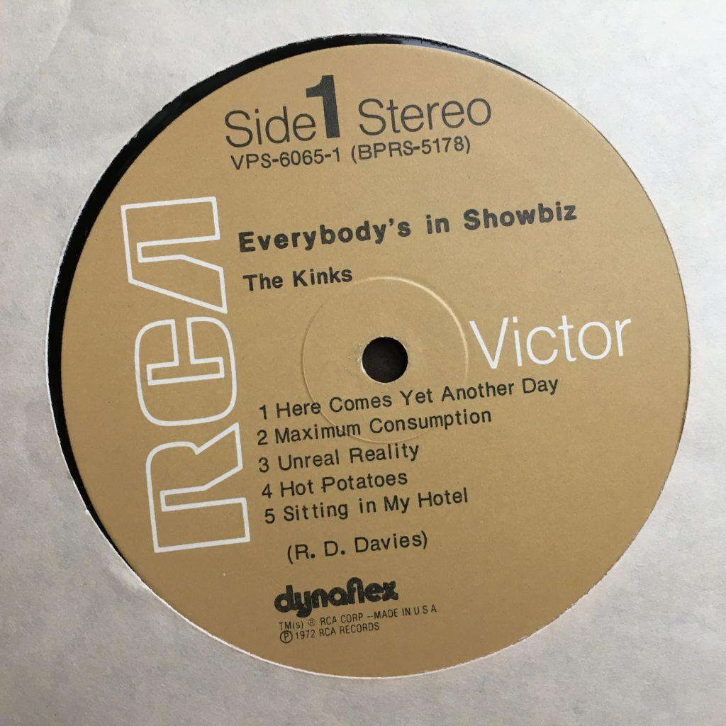 Everybody's in Show-Biz label