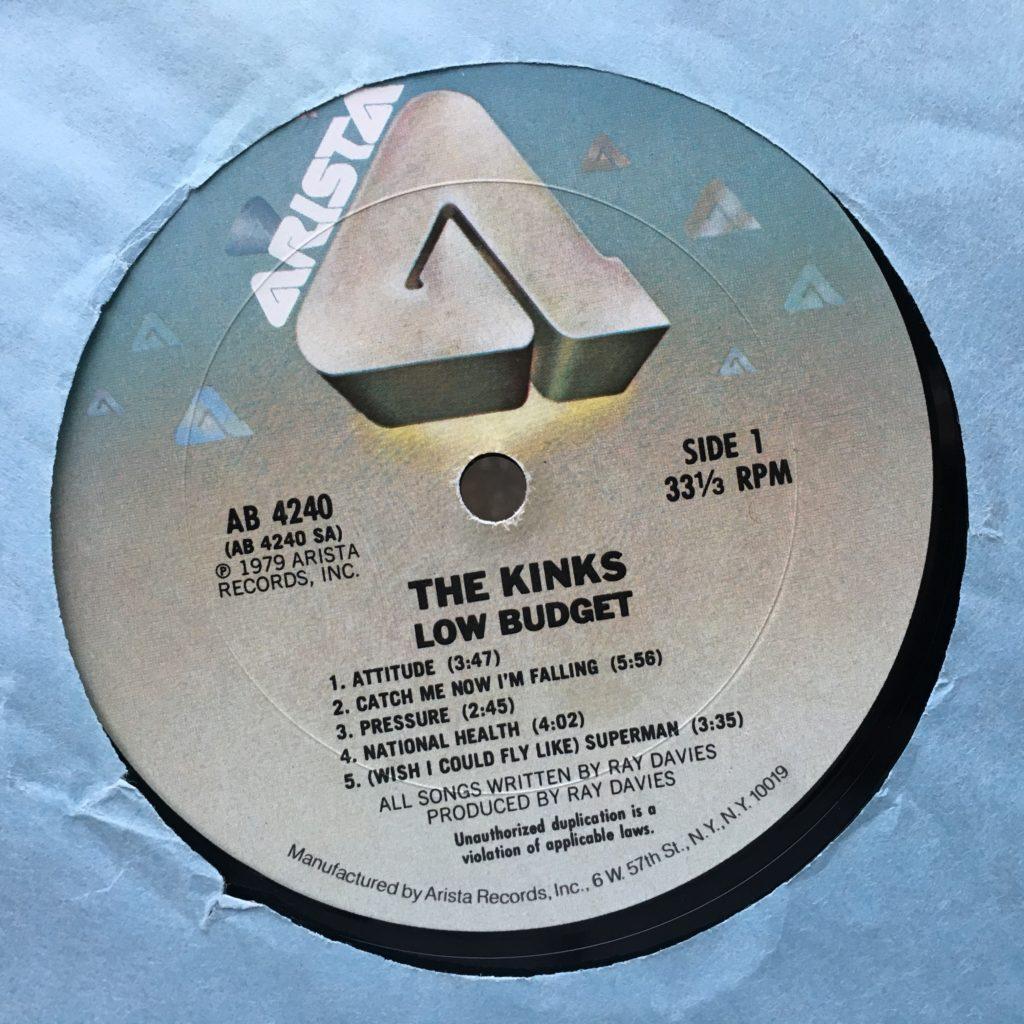 Low Budget label