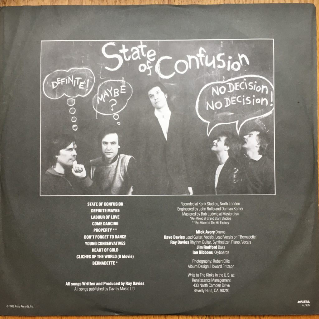 State of Confusion sleeve