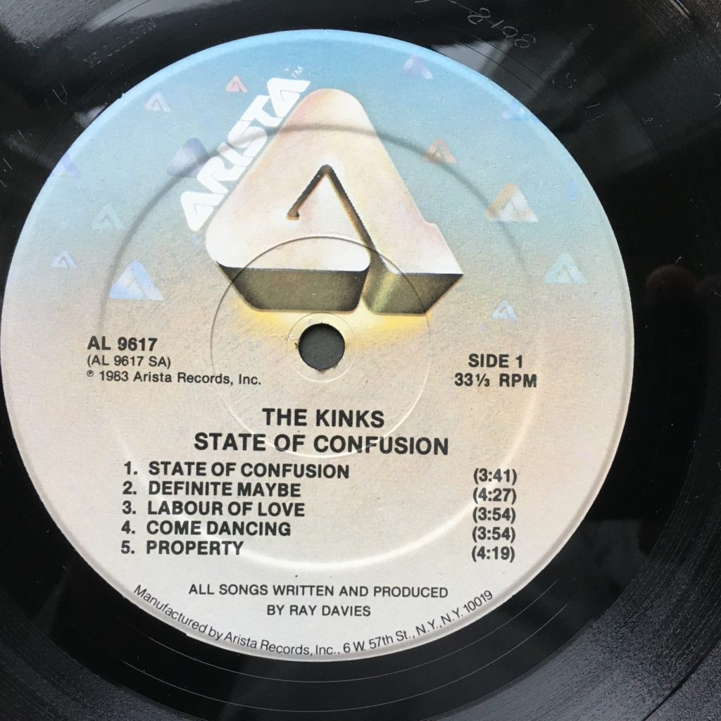 State of Confusion label