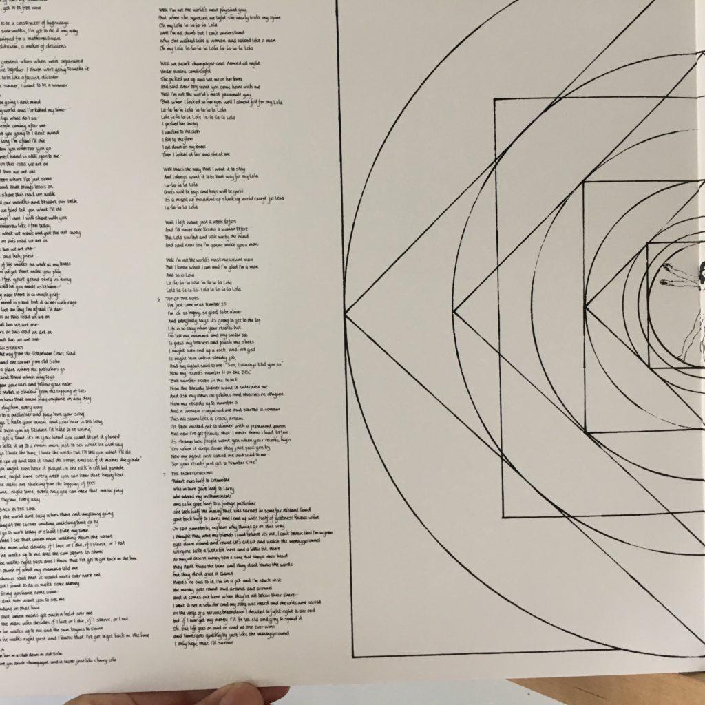 Lola gatefold lyrics