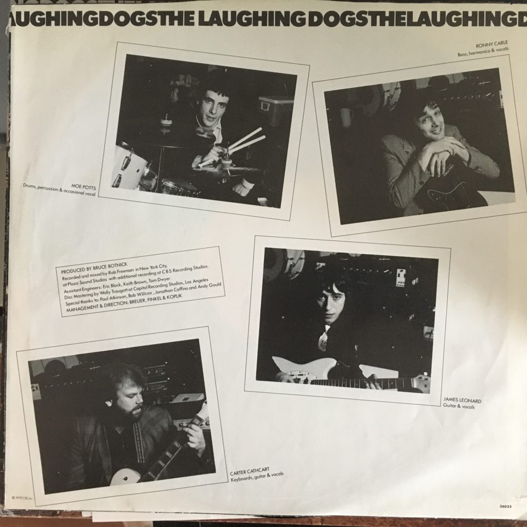 The Laughing Dogs sleeve