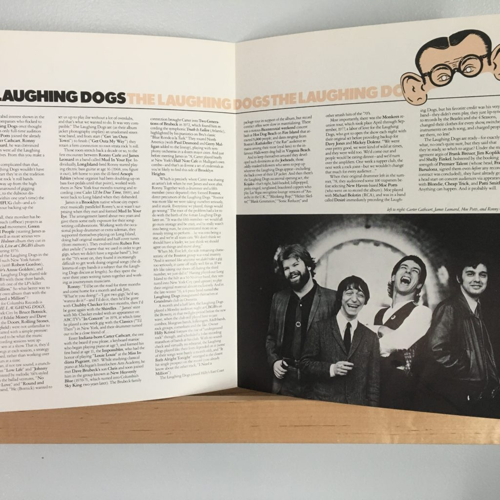 Laughing Dogs promo pamphlet