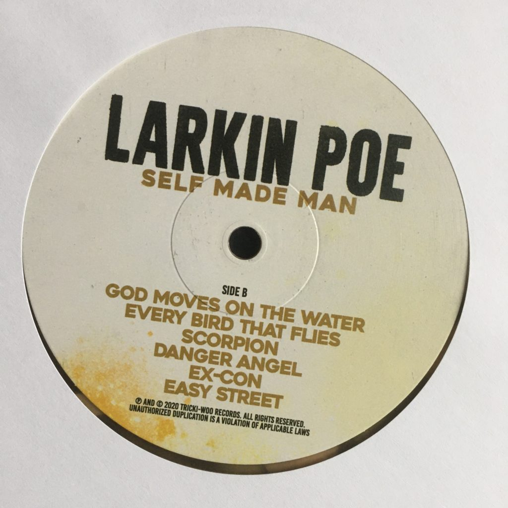 Larkin Poe Self Made Man label