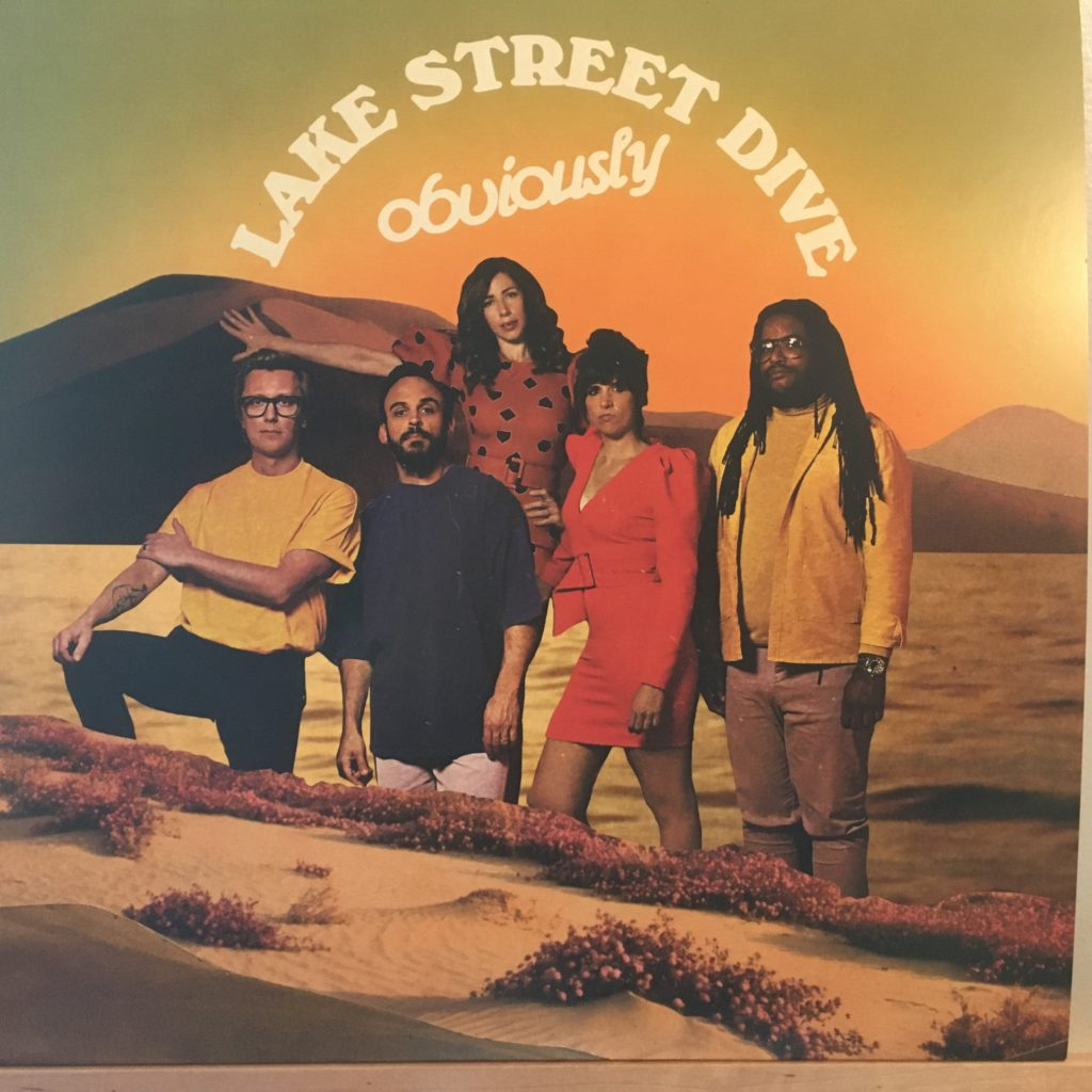 Lake Street Dive Obviously front cover
